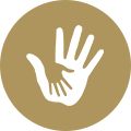 Hill Country Family Services Hands Icon